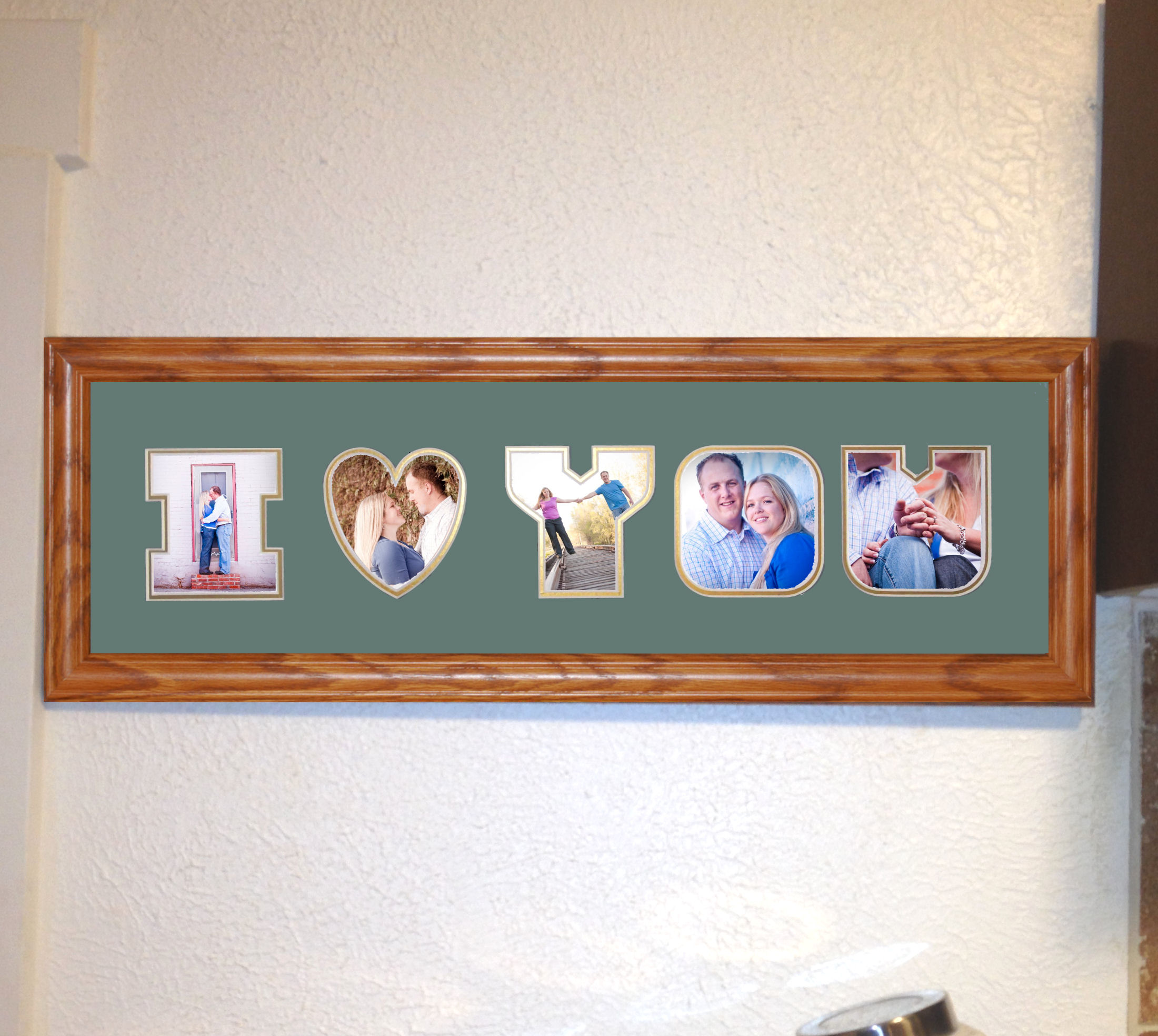 letter mat with frame moments that matter With letter picture frame mats